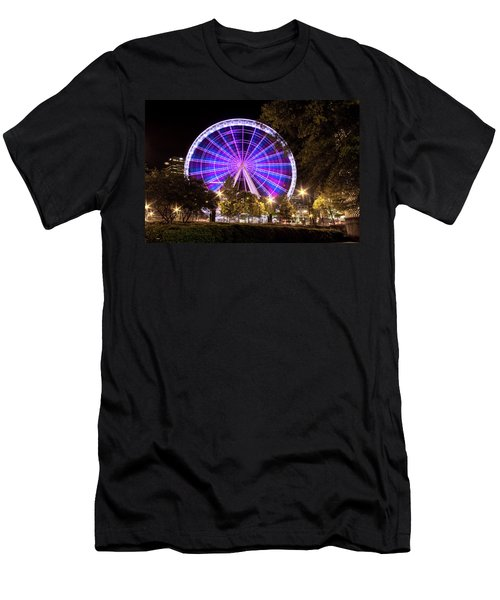 Ferris Wheel At Centennial Park 1 Men's T-Shirt (Athletic Fit)