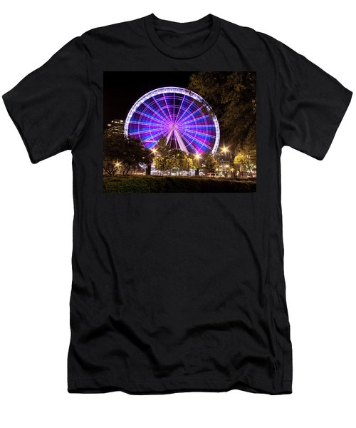 Ferris Wheel At Centennial Park 1 Men's T-Shirt (Athletic Fit)