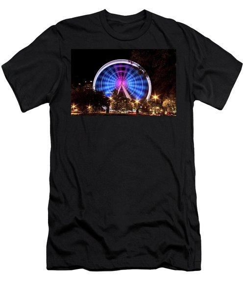 Ferris Wheel At Centennial Park 2 Men's T-Shirt (Athletic Fit)