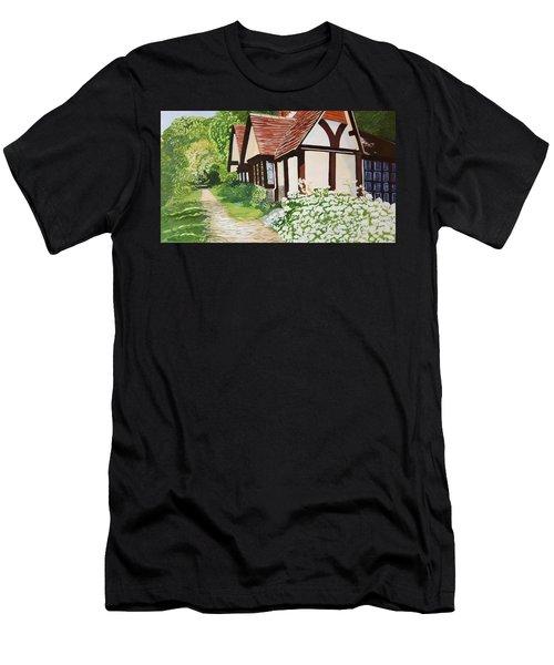 Ferry Cottage Men's T-Shirt (Athletic Fit)
