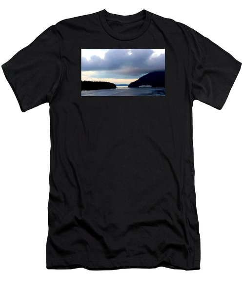 Ferry Crossing Men's T-Shirt (Athletic Fit)