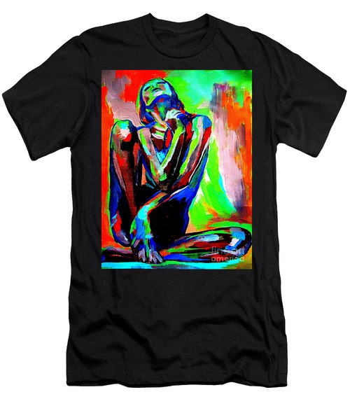 Fervidly Men's T-Shirt (Slim Fit) by Helena Wierzbicki