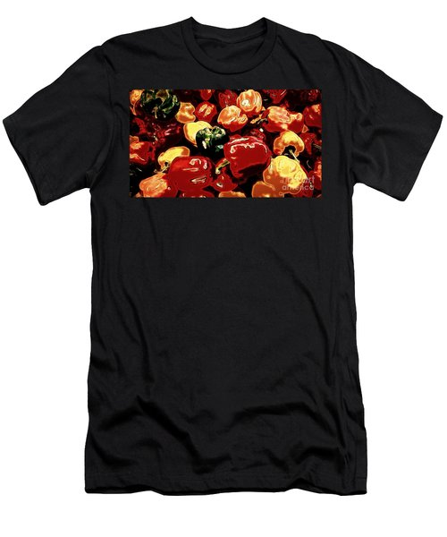 Festival Of Peppers Men's T-Shirt (Athletic Fit)
