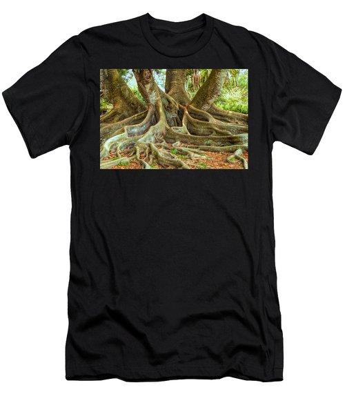 Ficus Roots Men's T-Shirt (Athletic Fit)