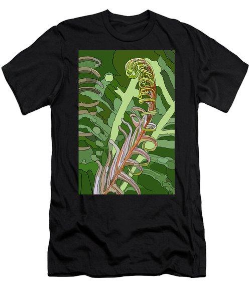 Fiddlehead Men's T-Shirt (Athletic Fit)
