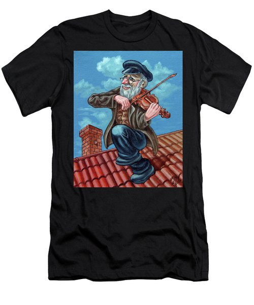 Fiddler On The Roof. Op2608 Men's T-Shirt (Athletic Fit)