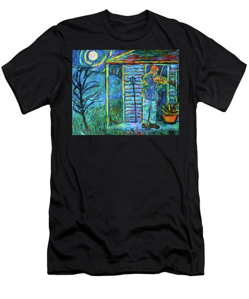 Fiddling At Midnight's Farm House Men's T-Shirt (Athletic Fit)