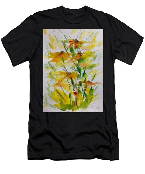 Field Bouquet Men's T-Shirt (Athletic Fit)