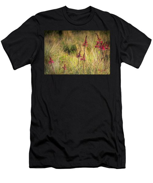 Field Flowers Men's T-Shirt (Athletic Fit)