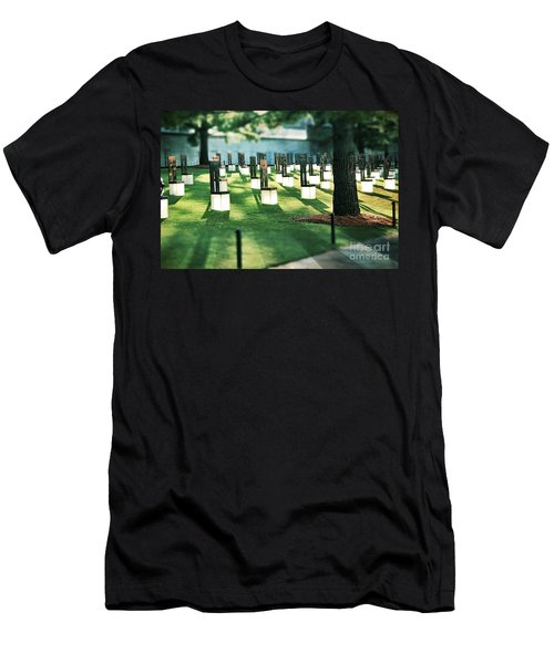 Field Of Empty Chairs Men's T-Shirt (Athletic Fit)