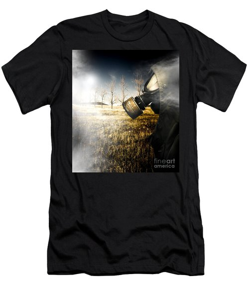 Field Of Terror Men's T-Shirt (Athletic Fit)