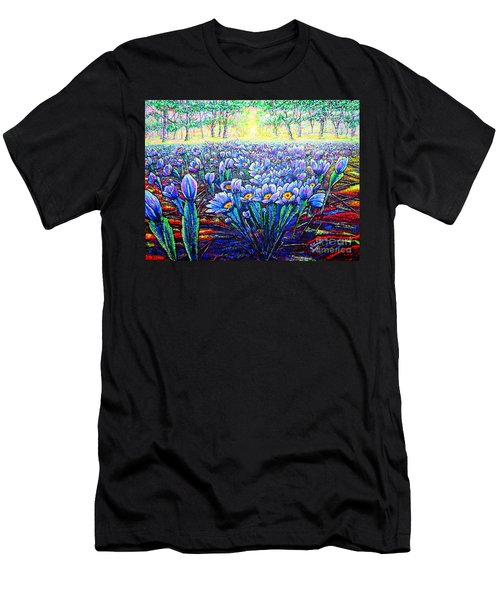 Field.flowers Men's T-Shirt (Athletic Fit)