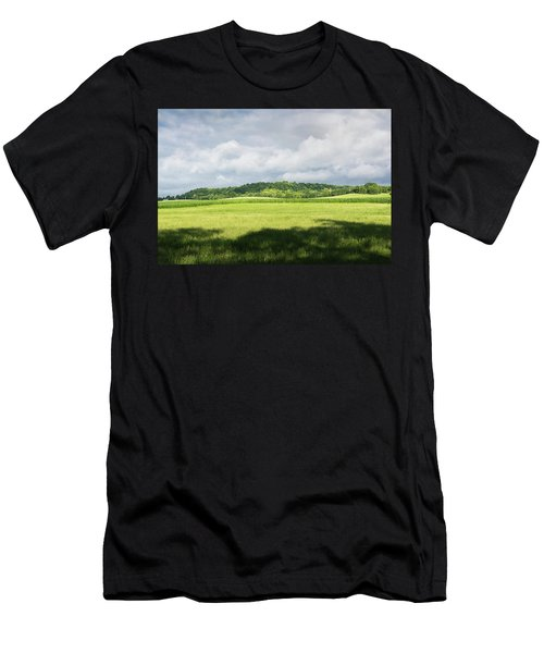 Fields Men's T-Shirt (Athletic Fit)