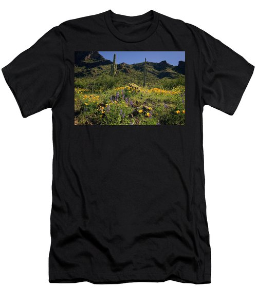 Fields Of Glory Men's T-Shirt (Slim Fit) by Lucinda Walter