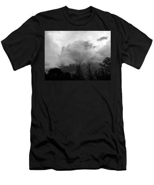 Men's T-Shirt (Slim Fit) featuring the photograph Fierce  by Teresa Schomig