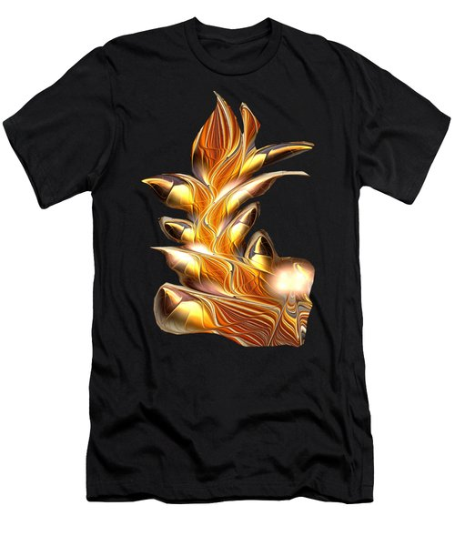 Fiery Claws Men's T-Shirt (Athletic Fit)