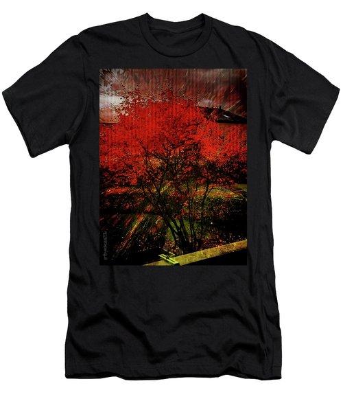 Fiery Dance Men's T-Shirt (Athletic Fit)