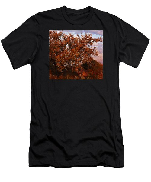Fiery Elm Tree  Men's T-Shirt (Athletic Fit)
