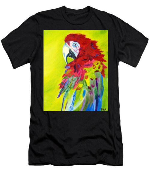 Fiery Feathers Men's T-Shirt (Athletic Fit)