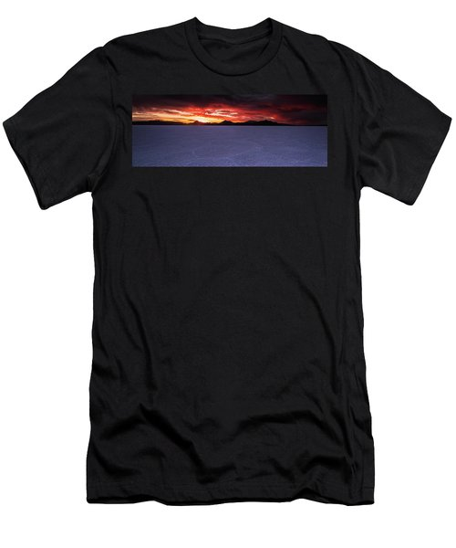 Men's T-Shirt (Athletic Fit) featuring the photograph Fight For The Light by Edgars Erglis