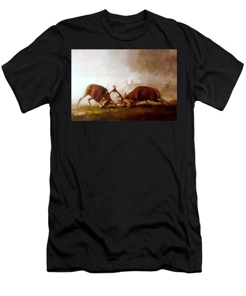 Fighting Stags II. Men's T-Shirt (Athletic Fit)