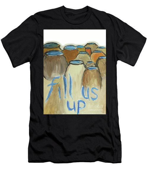 Fill Us Up Men's T-Shirt (Athletic Fit)