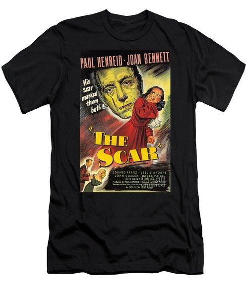 Film Noir Poster  The Scar Men's T-Shirt (Athletic Fit)