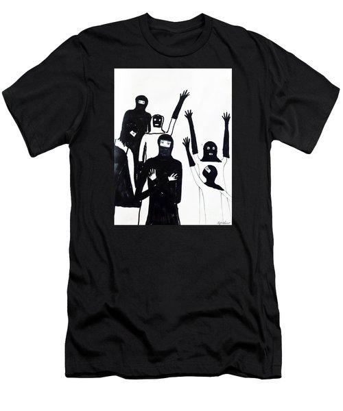 Final Call Men's T-Shirt (Slim Fit) by Lyric Lucas