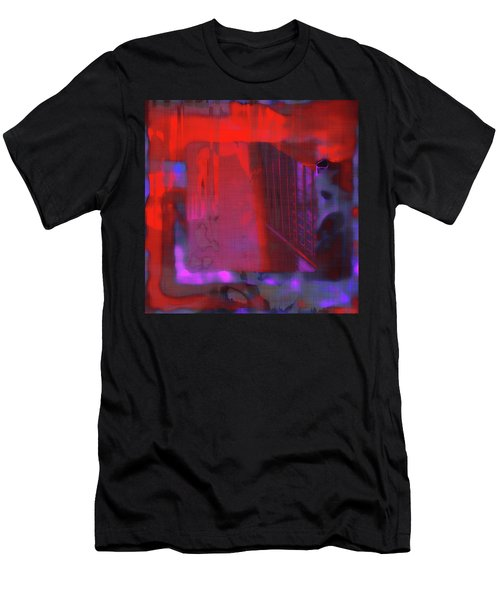 Men's T-Shirt (Athletic Fit) featuring the digital art Final Scene - Before The Bell by Wendy J St Christopher