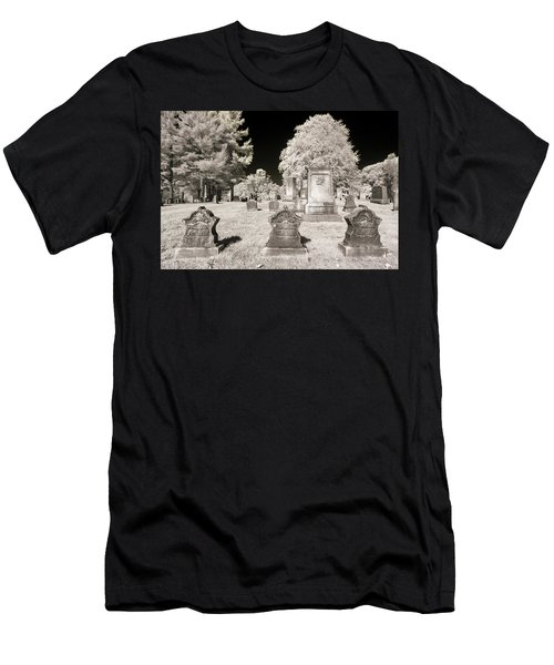 Men's T-Shirt (Athletic Fit) featuring the photograph Final Three by Brian Hale
