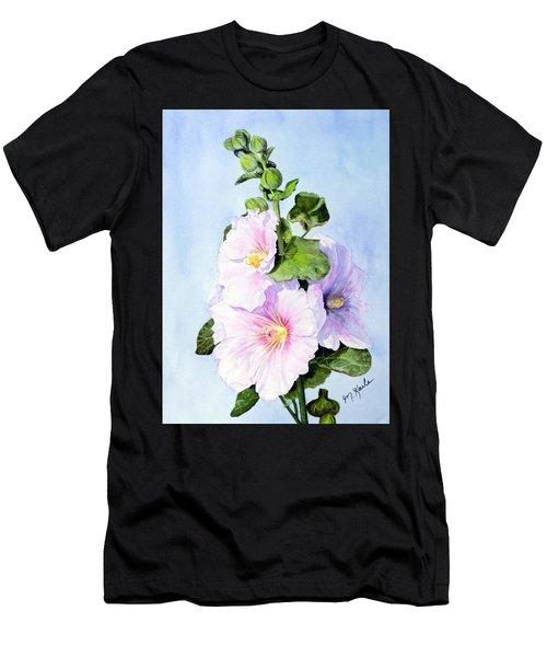 Finally Hollyhocks Men's T-Shirt (Athletic Fit)