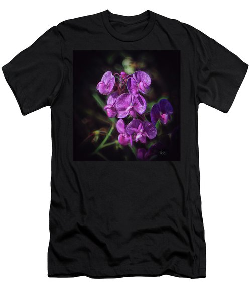 Fine Flower Arrangement Men's T-Shirt (Athletic Fit)