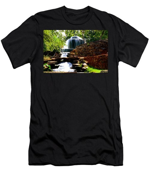 Finlay Park Columbia Sc Summertime Men's T-Shirt (Athletic Fit)