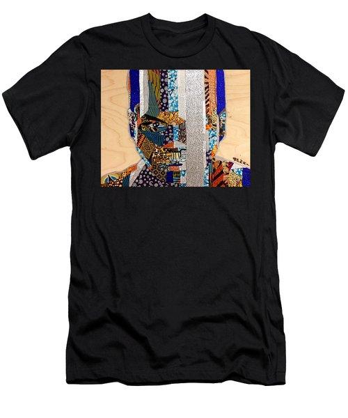 Finn Star Wars Awakens Afrofuturist  Men's T-Shirt (Athletic Fit)