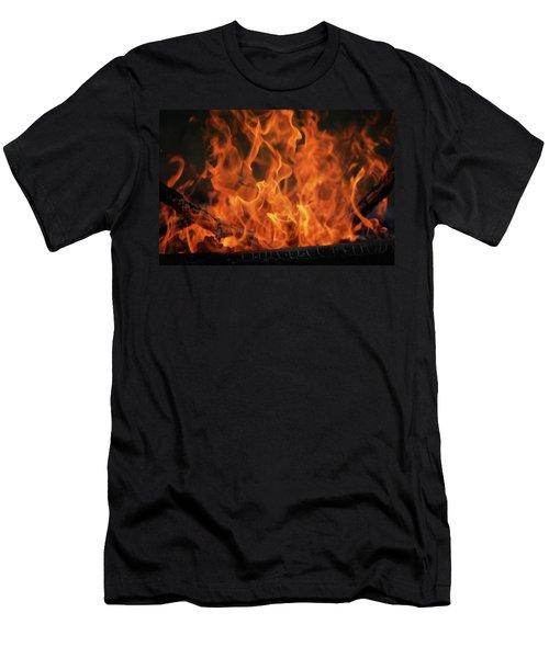 Fire Men's T-Shirt (Athletic Fit)