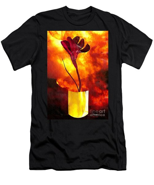 Fire And Flower Men's T-Shirt (Athletic Fit)