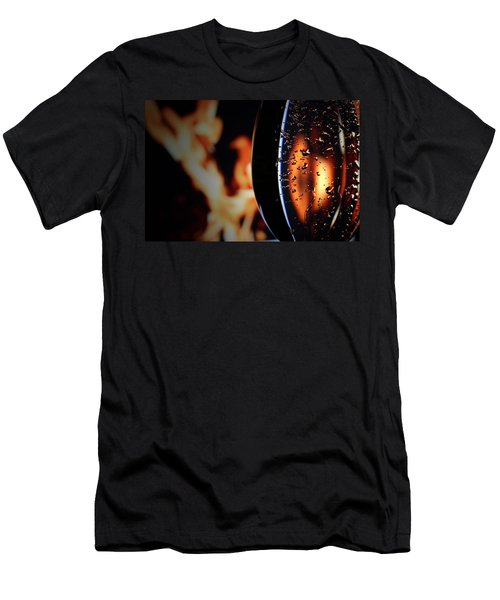 Fire And Rain Men's T-Shirt (Athletic Fit)