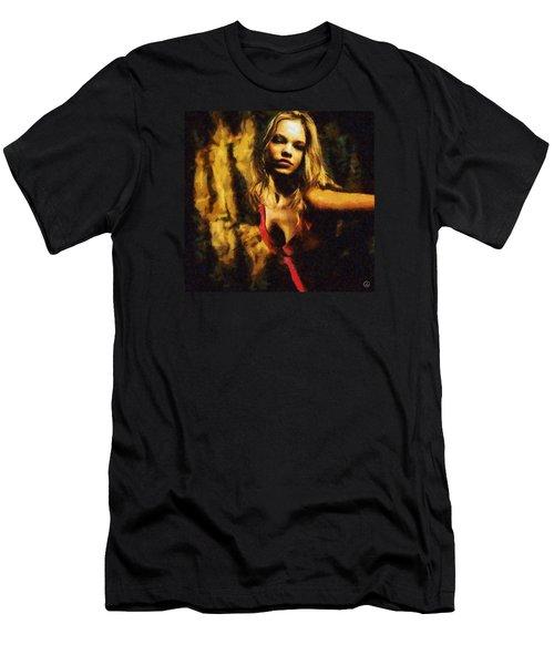 Fire Dance Men's T-Shirt (Athletic Fit)