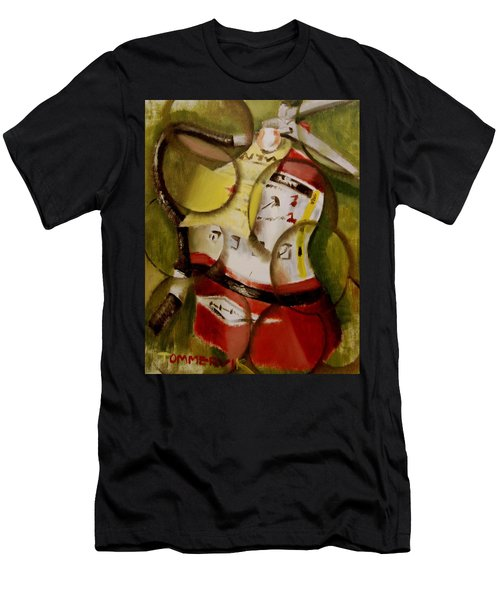 Tommervik Abstract Fire Extinguisher Art Print Men's T-Shirt (Athletic Fit)