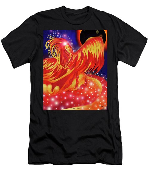 Fire Fairy Men's T-Shirt (Athletic Fit)