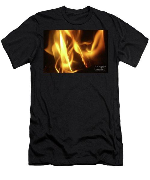 Fire  Feuer Men's T-Shirt (Athletic Fit)