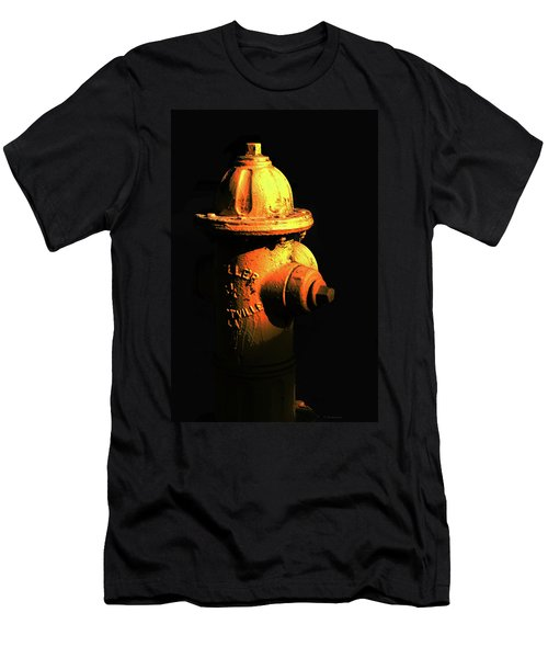 Fire Hydrant Art - Hot - Sharon Cummings Men's T-Shirt (Athletic Fit)