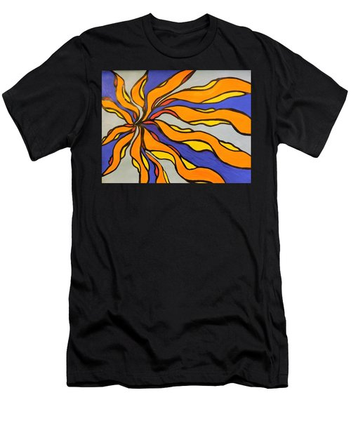 Fire, Ice, And Water Men's T-Shirt (Slim Fit)