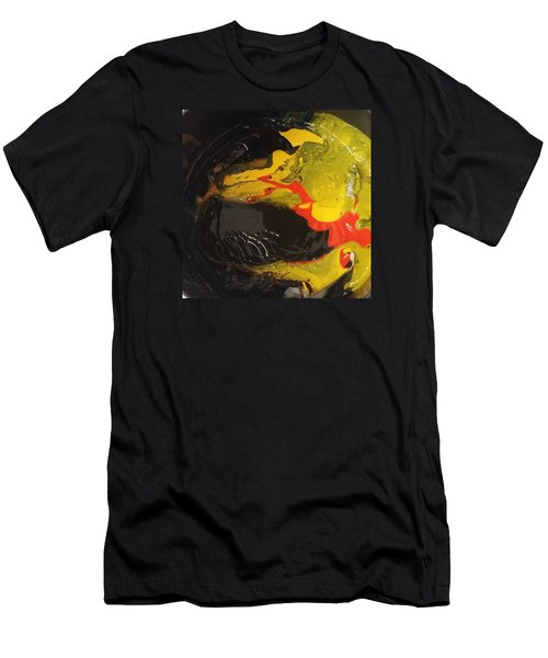 Fire In Soot Men's T-Shirt (Athletic Fit)