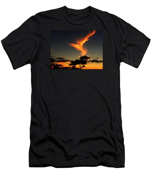 Early Evening Over Paros Island Men's T-Shirt (Athletic Fit)