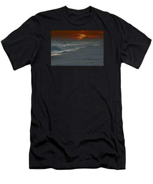 Fire In The Horizon Men's T-Shirt (Athletic Fit)