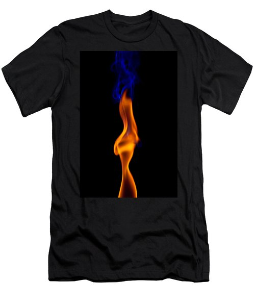 Men's T-Shirt (Slim Fit) featuring the photograph Fire Lady by Gert Lavsen