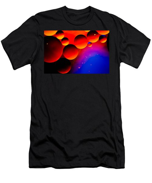 Fire Moons Men's T-Shirt (Slim Fit) by Bruce Pritchett