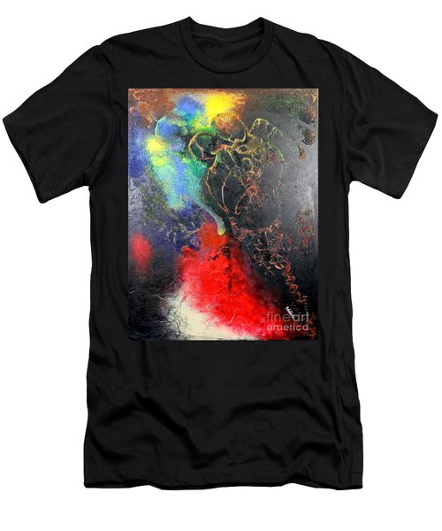 Fire Of Passion Men's T-Shirt (Athletic Fit)