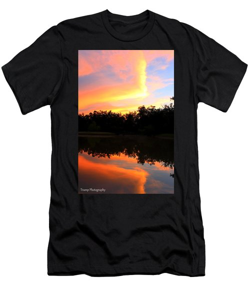 Fire On The Water Men's T-Shirt (Athletic Fit)